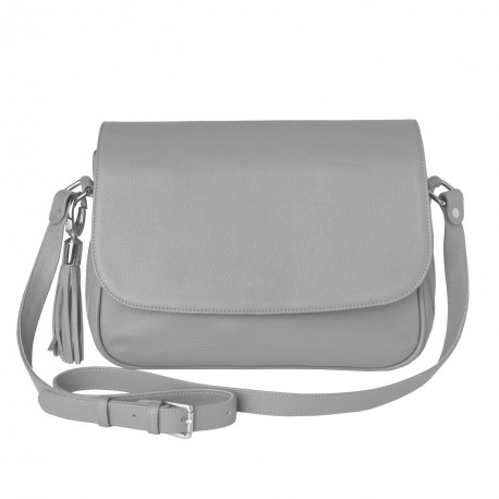 Flap Bag Fossil icegrey