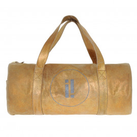Yoga Bag Copper-Sand Leather Used look
