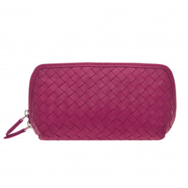 Cosmetic New small Nappa Woven pink