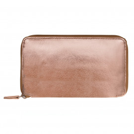 Purse long Nappa rosegold