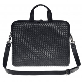 Nico Laptop Bag Nappa Woven black