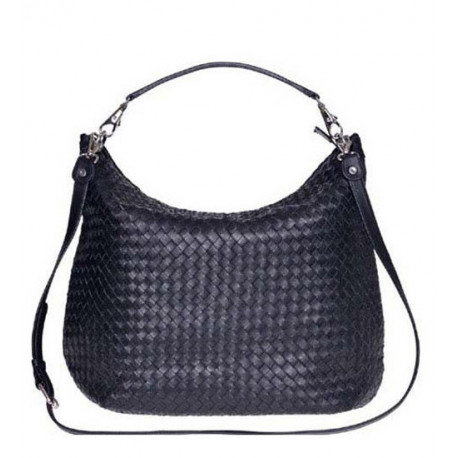 Daily Shopper Nappa Woven Navy Blue