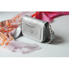 Boxy Bag Magnet silver-sand