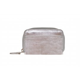 Purse small silver-dusty