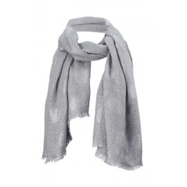 Star Scarf grey
