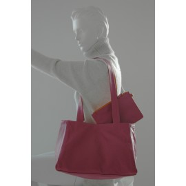 Wendetasche pink-orange