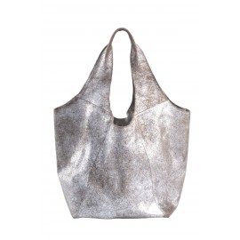 Bag Rosalie Silver-Sand Leather Used look