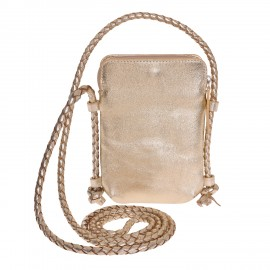 Mobile pouch Cord FF gold