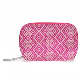 Cosmetic new small Jacquard pink