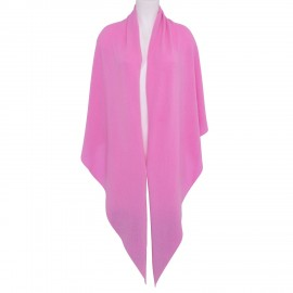 Scarf Cashmere Triangle pink