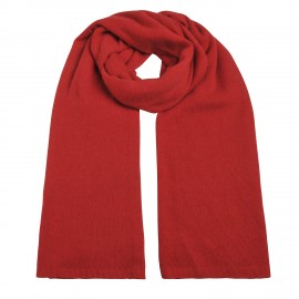 Scarf Cashmere knit red