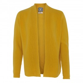Cashmere Jacket yellow