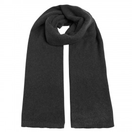 Scarf Cashmere knit black