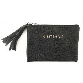 Square Purse mini black