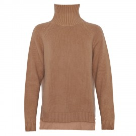 Cashmere Turtle Neck long camel