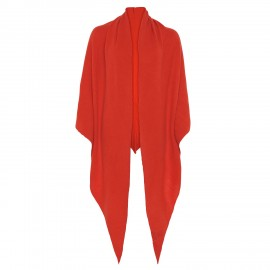 Scarf Cashmere Triangle orange