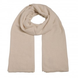Scarf Cashmere knit offwhite