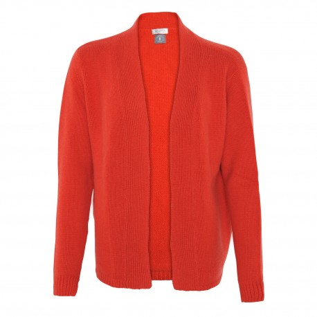 Cashmere Jacket orange