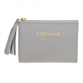 Square Purse mini grey