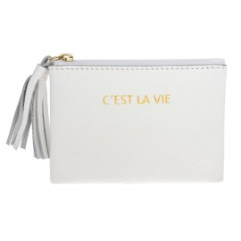 Square Purse mini white