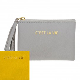 Square Purse mini yellow