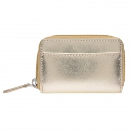 Purse small gold-dusty