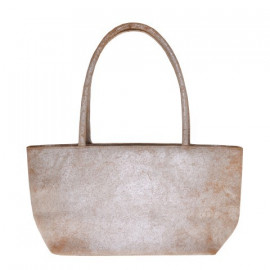 Asia Bag small Silver-Sand