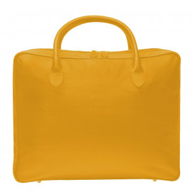 Travel Soft Suitcase Fossil yellow