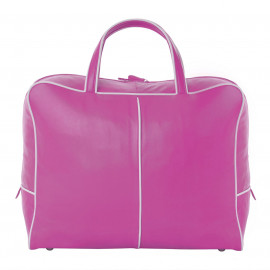 Travel Bag Nappa pink