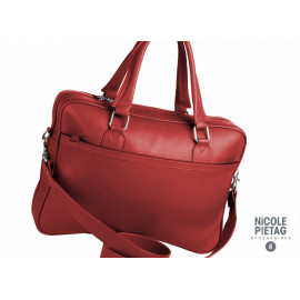 Business Bag Trolley Fossil red