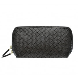 Cosmetic New small Nappa Woven black