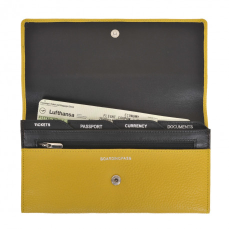 Travel Purse Fossil yellow