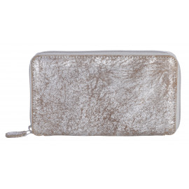 Purse Long Silver-Sand